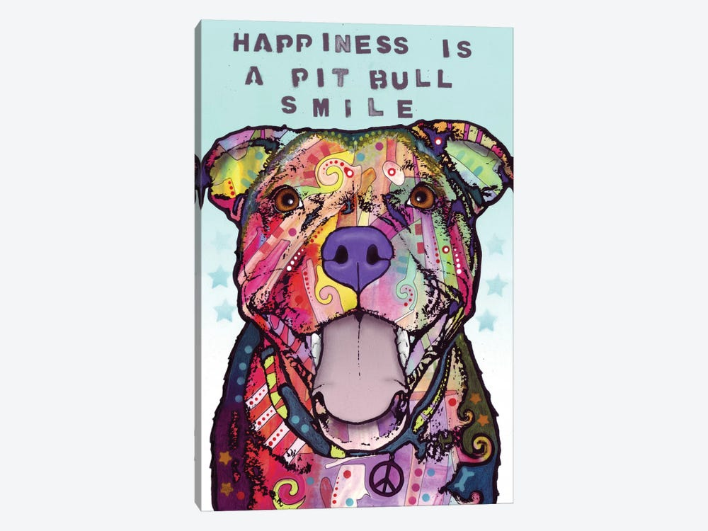 Smile by Dean Russo 1-piece Canvas Artwork