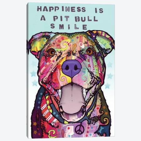 Smile Canvas Print #DRO160} by Dean Russo Canvas Wall Art