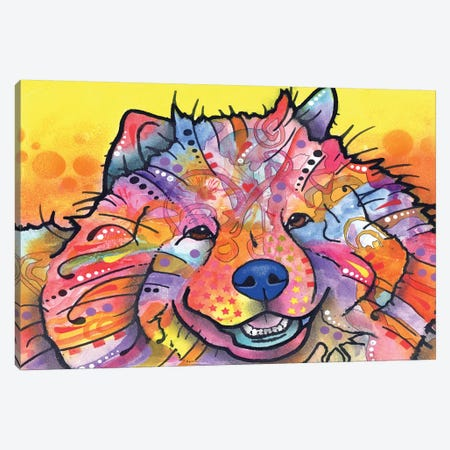 Benzi Canvas Print #DRO169} by Dean Russo Canvas Artwork