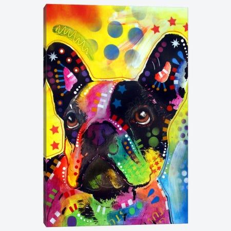 French Bulldog II Canvas Print #DRO16} by Dean Russo Canvas Artwork