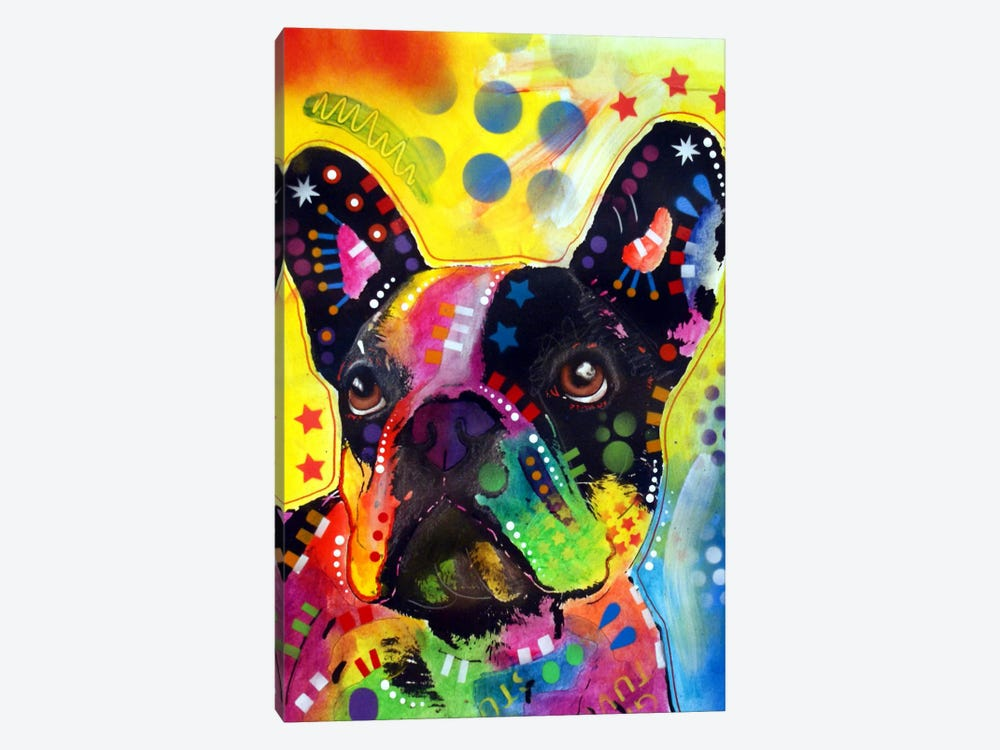 French Bulldog II by Dean Russo 1-piece Canvas Wall Art