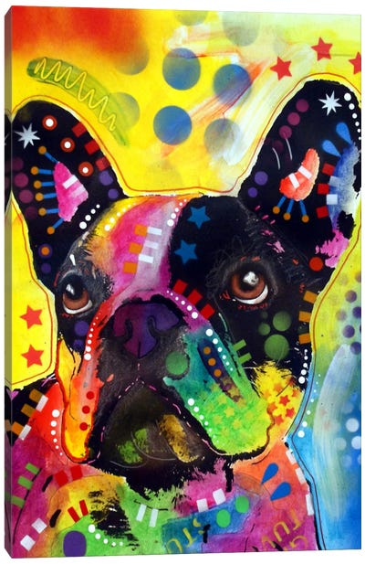 French Bulldog II Canvas Art Print