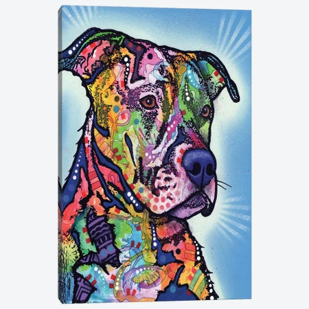 Deacon Canvas Print #DRO175} by Dean Russo Canvas Art