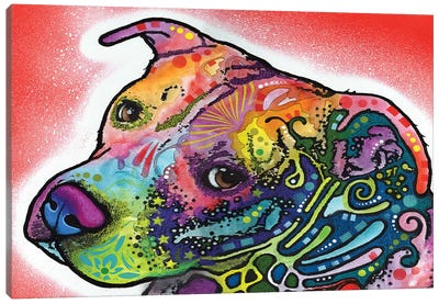 Mocha Canvas Art Print