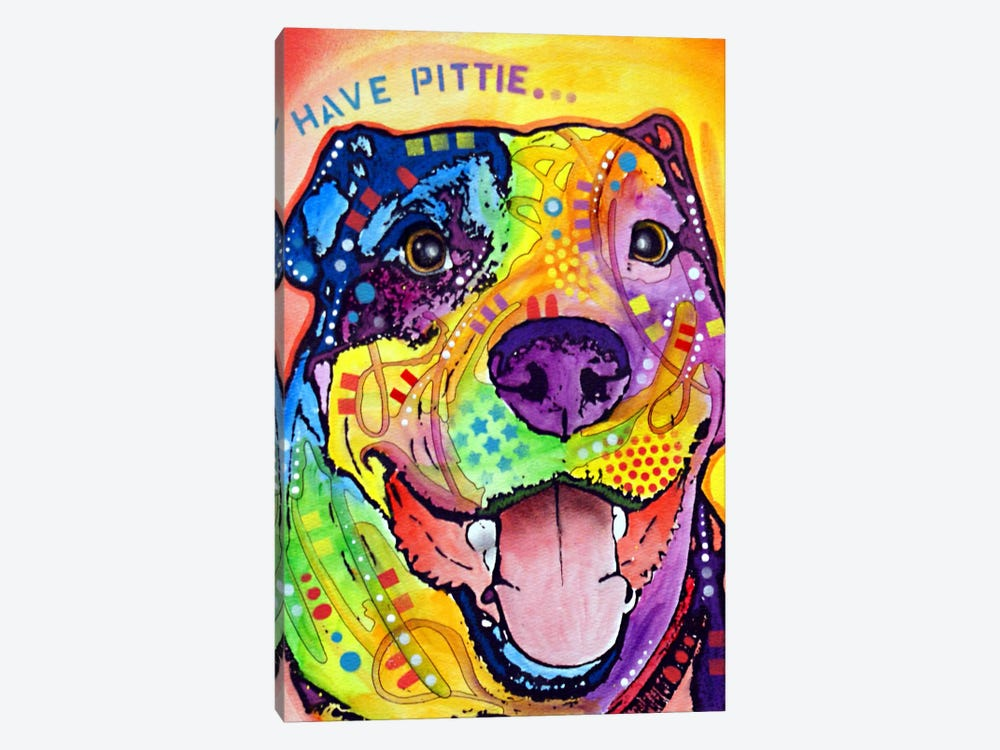 Have Pittie by Dean Russo 1-piece Canvas Wall Art