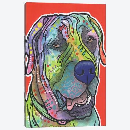 Zeus Canvas Print #DRO190} by Dean Russo Canvas Art Print