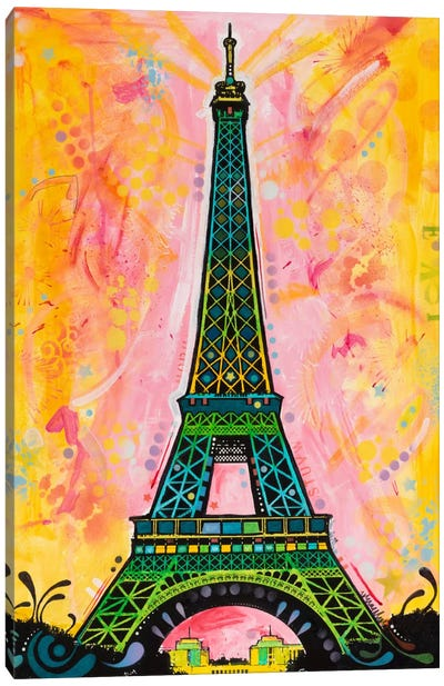 Eiffel ALI Canvas Art Print