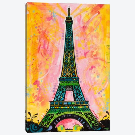 Eiffel ALI 3-Piece Canvas #DRO1} by Dean Russo Canvas Print