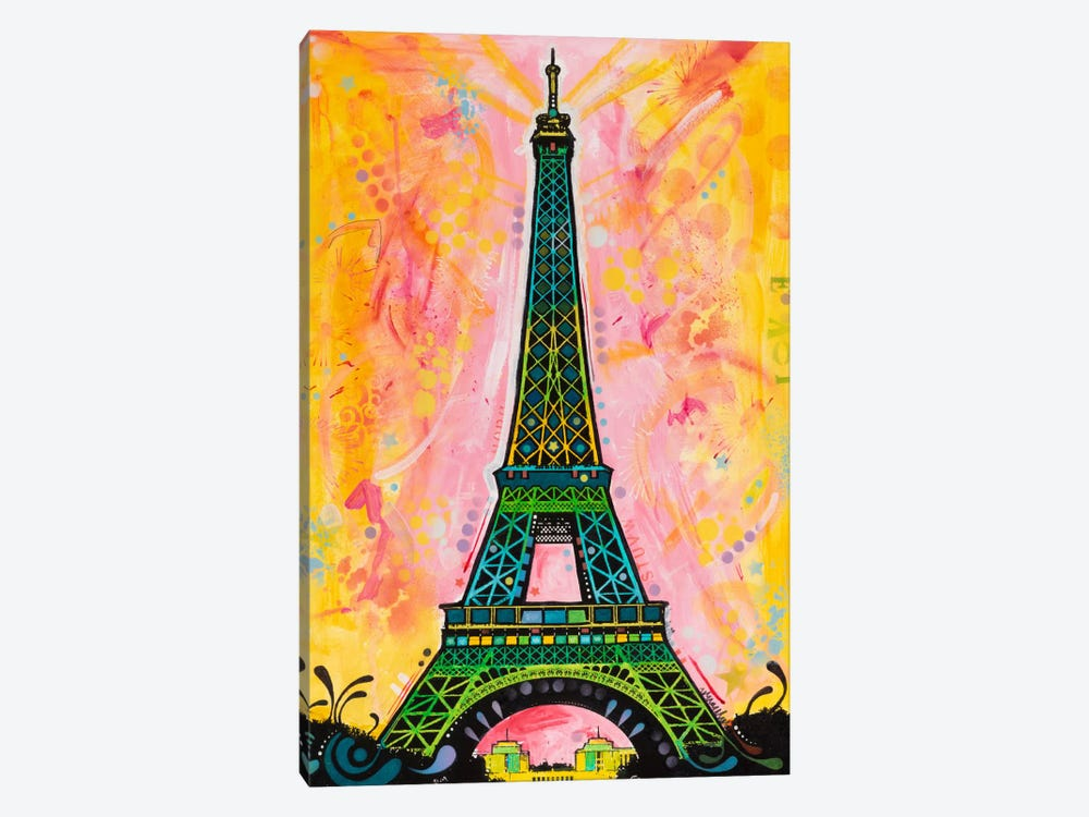 Eiffel ALI by Dean Russo 1-piece Canvas Art Print