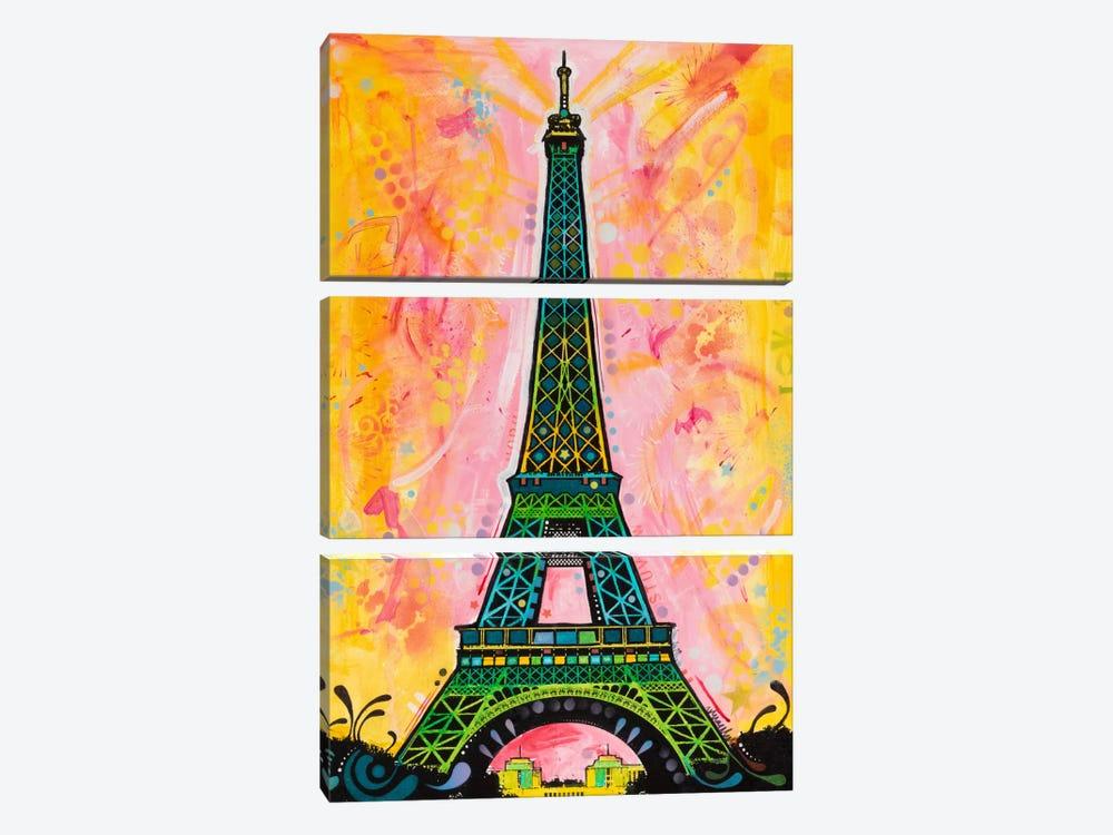 Eiffel ALI by Dean Russo 3-piece Art Print