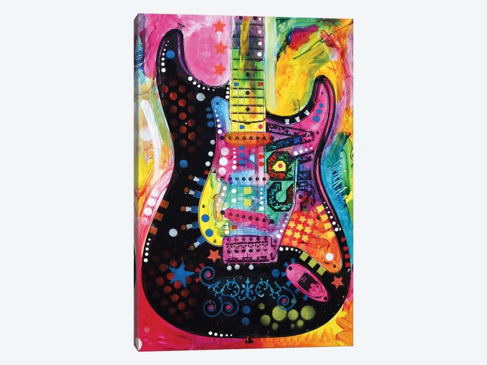 Lenny Strat by Dean Russo 1-piece Art Print