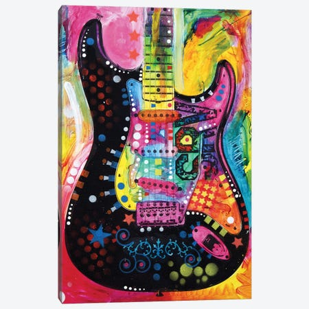 Lenny Strat Canvas Print #DRO201} by Dean Russo Canvas Print