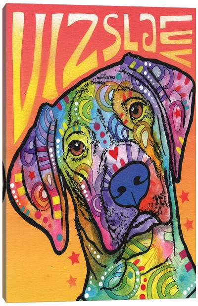 Vizsla Luv Canvas Art Print