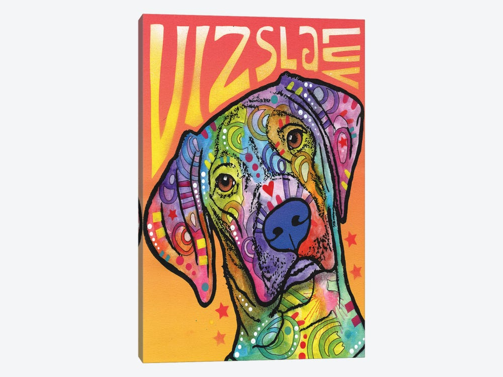 Vizsla Luv by Dean Russo 1-piece Canvas Art