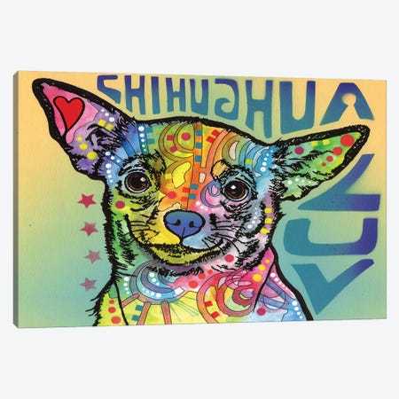 Chihuahua Luv Canvas Print #DRO216} by Dean Russo Art Print