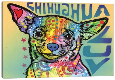 Chihuahua Luv Canvas Print #DRO216