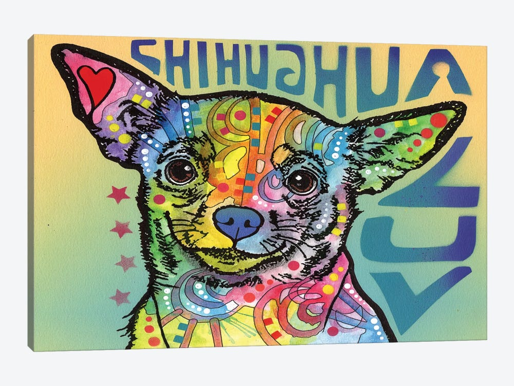 Chihuahua Luv by Dean Russo 1-piece Canvas Print