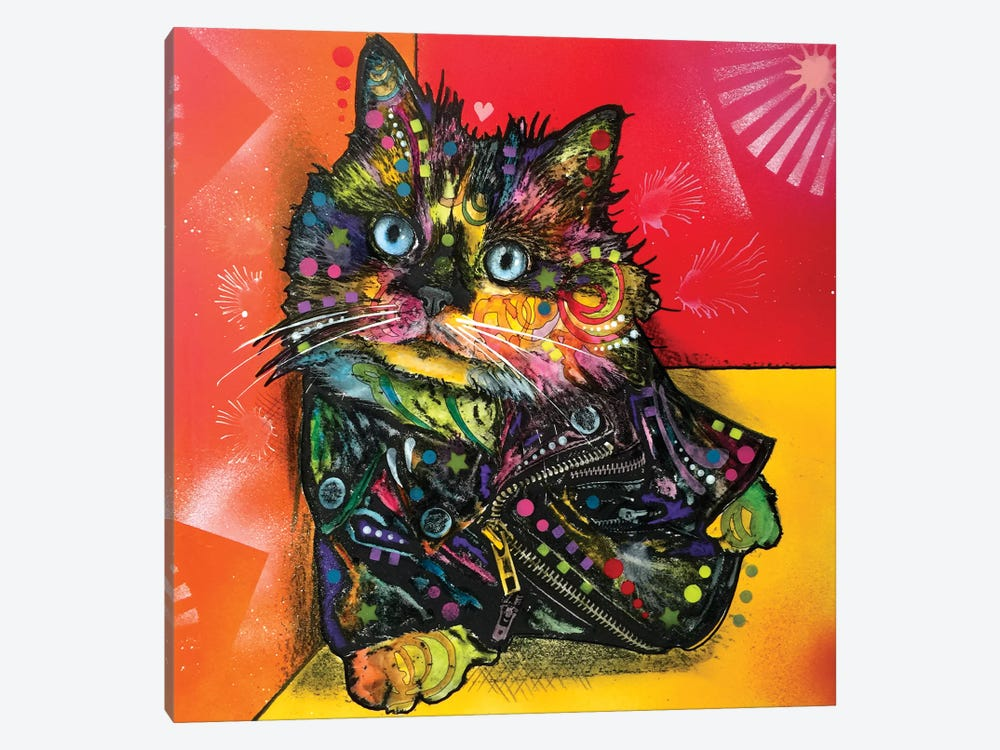 Albert The Baby Cat by Dean Russo 1-piece Canvas Art Print
