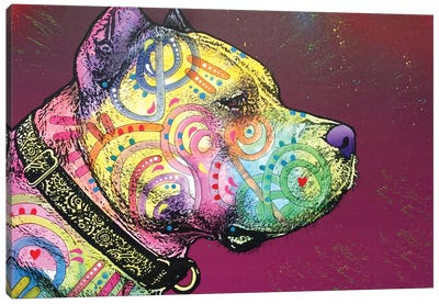 Pit Bull Soul Canvas Art Print