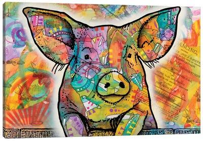 The Pig Canvas Art Print