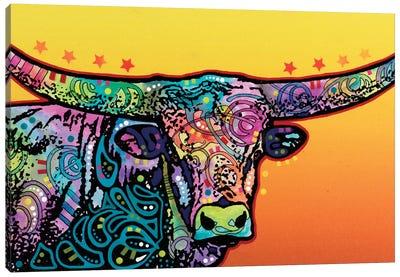 The Longhorn Canvas Print #DRO234
