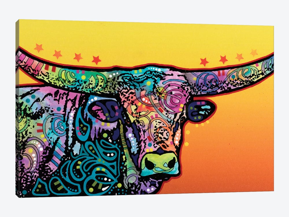 The Longhorn by Dean Russo 1-piece Art Print