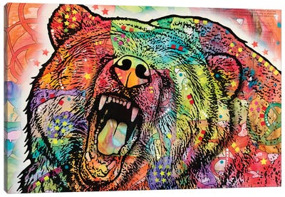 Grizzly Canvas Print #DRO235