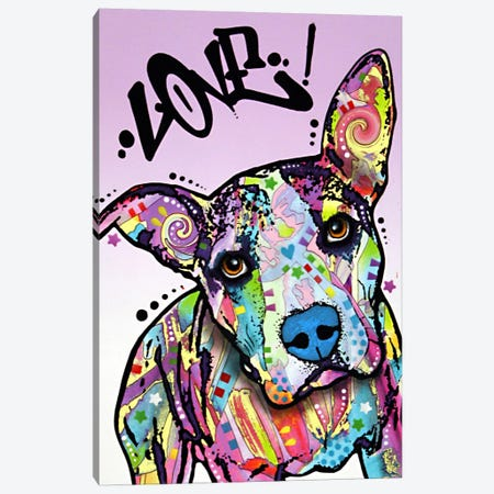 Love! Canvas Print #DRO23} by Dean Russo Canvas Wall Art