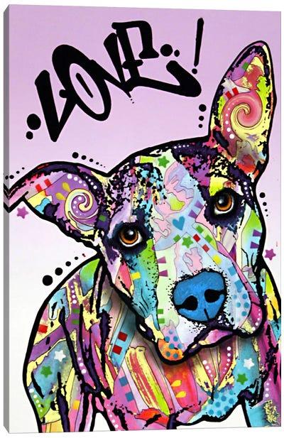 Love! Canvas Print #DRO23