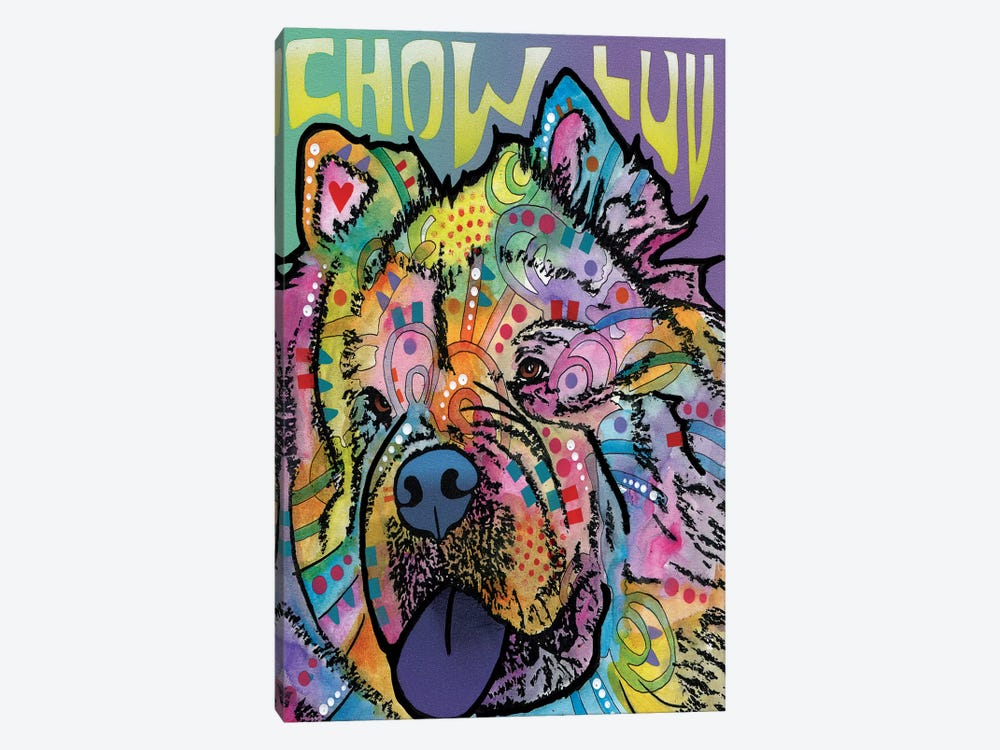 Chow Luv by Dean Russo 1-piece Canvas Art