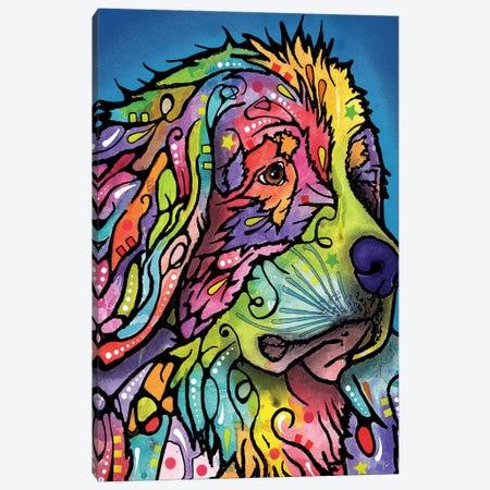 Mountain Dog Canvas Print #DRO251} by Dean Russo Canvas Wall Art