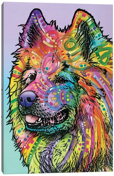Samoyed Canvas Print #DRO252