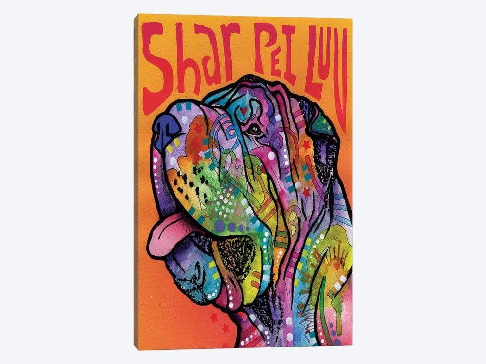 Shar Pei Luv by Dean Russo 1-piece Canvas Art