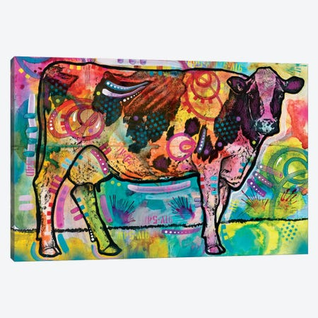 Cow Canvas Print #DRO259} by Dean Russo Canvas Art