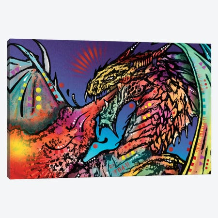 Dragon Canvas Print #DRO261} by Dean Russo Canvas Print