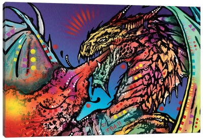 Dragon Canvas Art Print