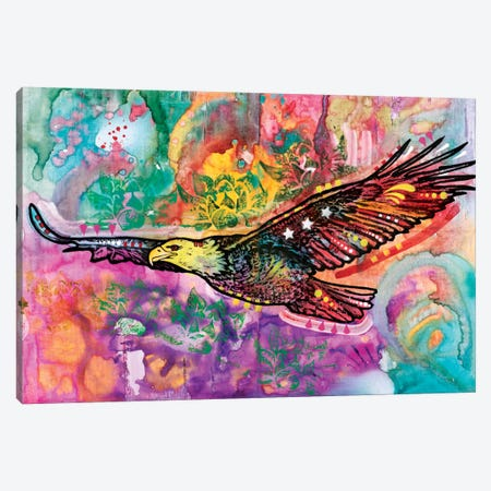Eagle Canvas Print #DRO262} by Dean Russo Canvas Print