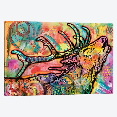 Stag Canvas Print #DRO266} by Dean Russo Canvas Art