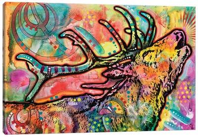 Stag Canvas Print #DRO266