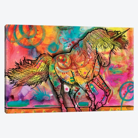 Unicorn Canvas Print #DRO268} by Dean Russo Canvas Print