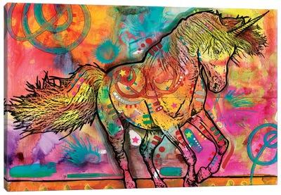 Unicorn Canvas Print #DRO268