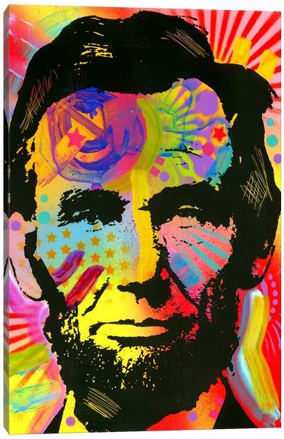 Abraham Lincoln III Canvas Art Print