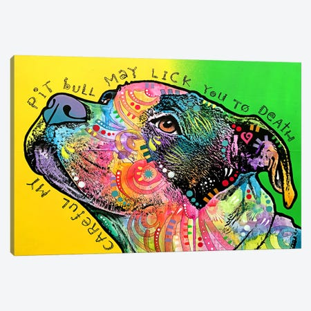 Lick You To Death Canvas Print #DRO274} by Dean Russo Canvas Print