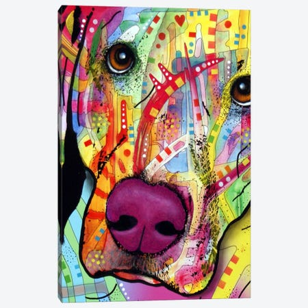 Close Up Lab Canvas Print #DRO277} by Dean Russo Canvas Art Print