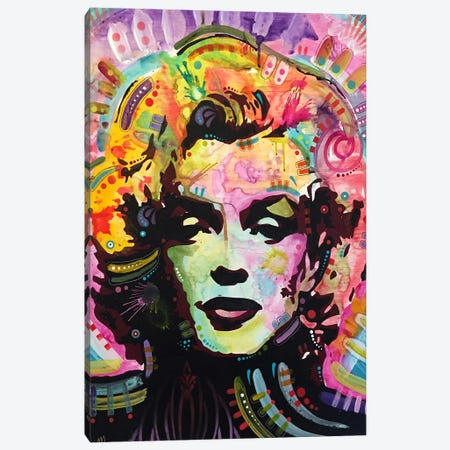 Marilyn III Canvas Print #DRO281} by Dean Russo Art Print