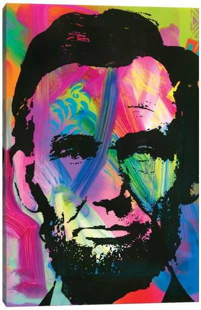 Abraham Lincoln I Canvas Art Print