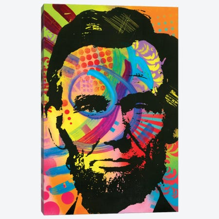 Abraham Lincoln II Canvas Print #DRO286} by Dean Russo Canvas Art