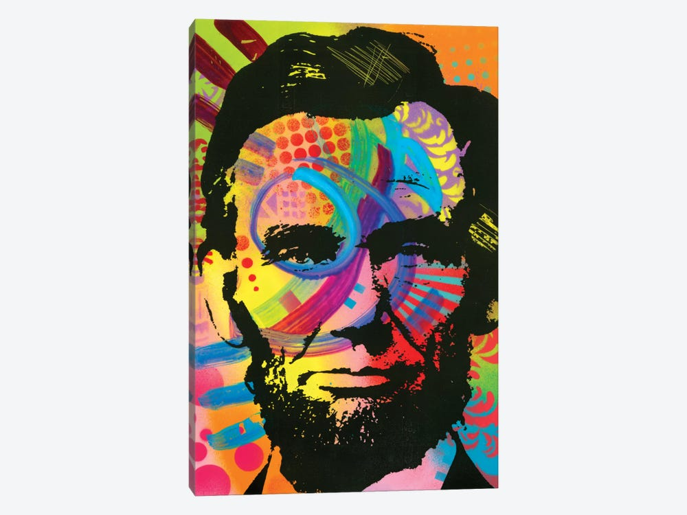 Abraham Lincoln II by Dean Russo 1-piece Canvas Wall Art