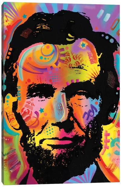 Abraham Lincoln IV Canvas Art Print