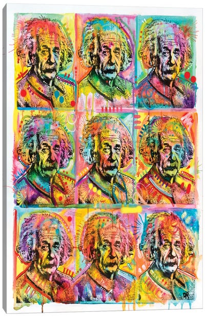 Einstein I Canvas Art Print